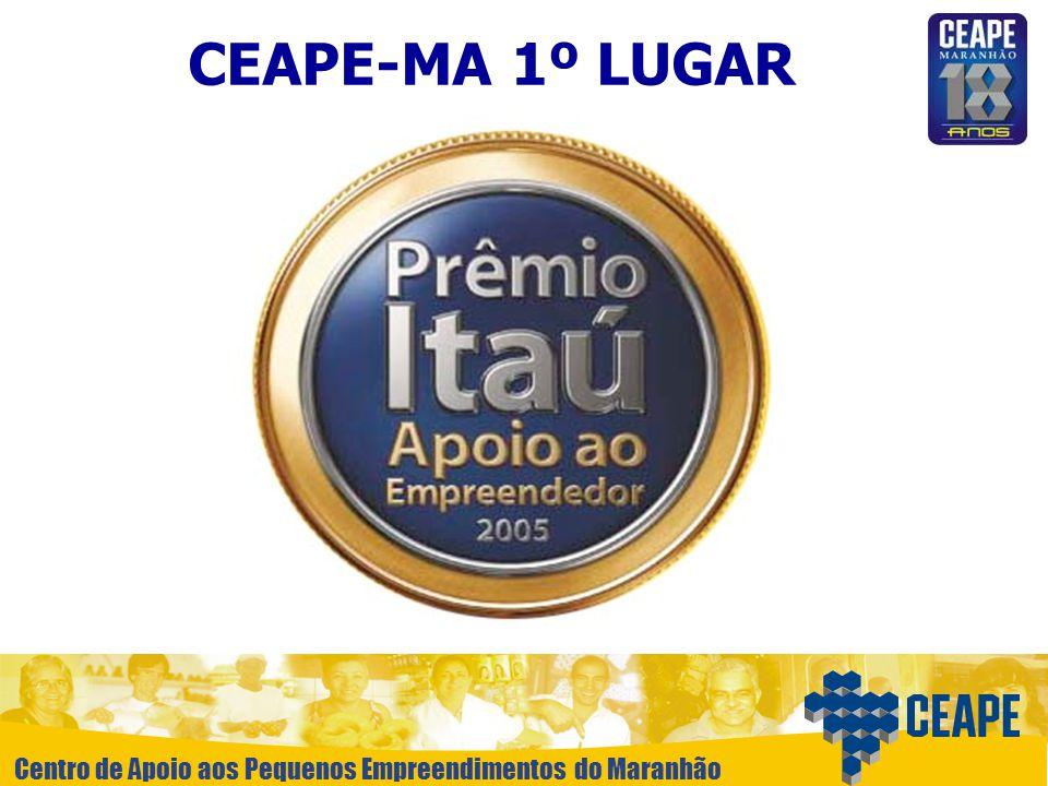 Centro de Apoio aos Pequenos Empreendimentos do Maranhão CEAPE-MA 1º LUGAR