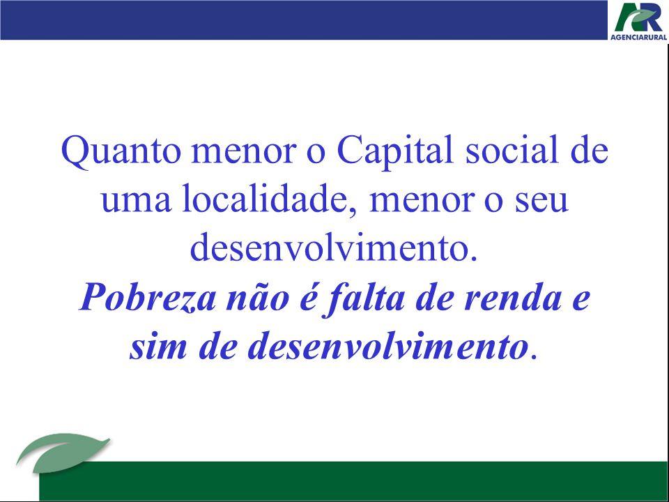 8º mito – A vanguarda puxa a retaguarda É acreditar que o desenvolvimento econômico puxa o restante ( social, humano, etc)