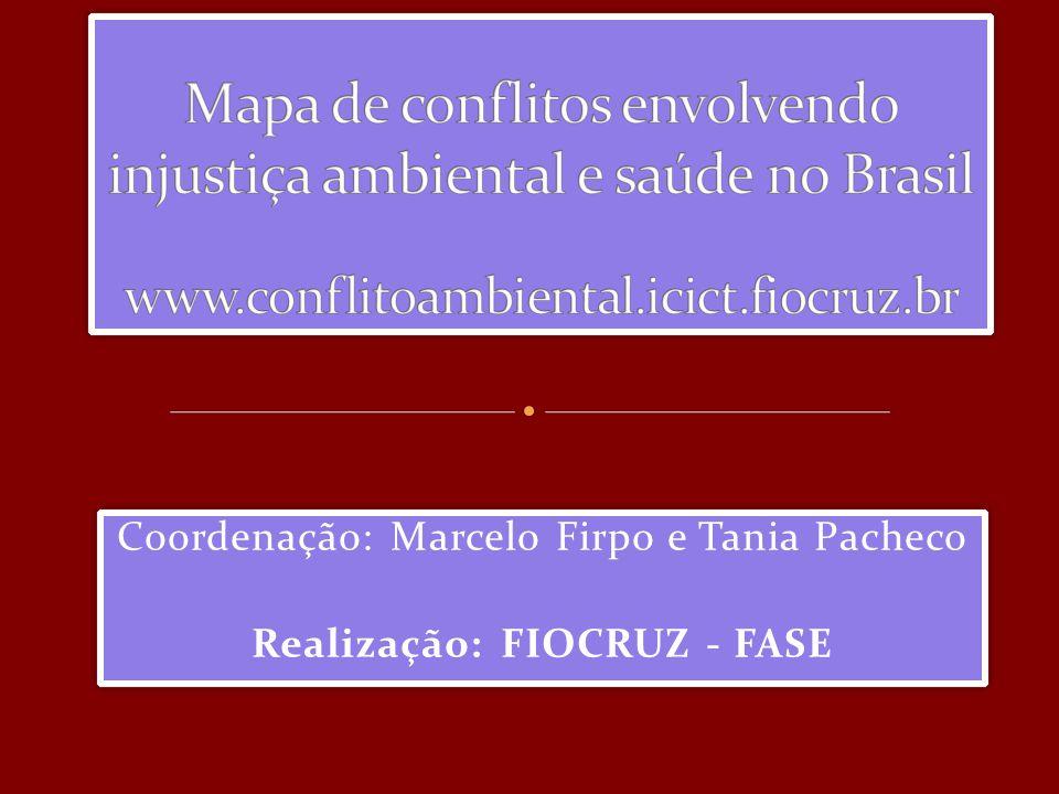 Coordenação: Marcelo Firpo e Tania Pacheco Realização: FIOCRUZ - FASE Coordenação: Marcelo Firpo e Tania Pacheco Realização: FIOCRUZ - FASE