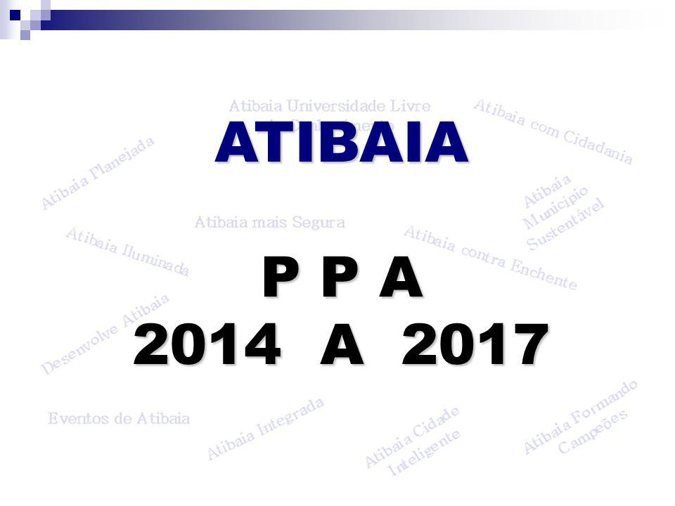ATIBAIA P P A 2014 A 2017