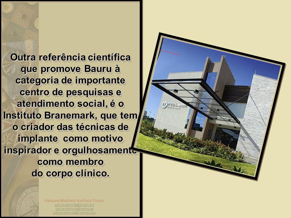 Galvany Bladimir Valdivia Tirado galvanybvtvida@gmail.com galvanybvtvida@yahoo.es galvanybvtvida@hotmail.com Outra referência mundial no campo científ