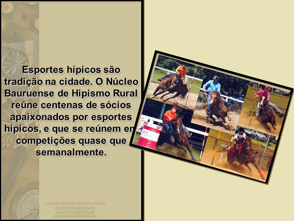 Galvany Bladimir Valdivia Tirado galvanybvtvida@gmail.com galvanybvtvida@yahoo.es galvanybvtvida@hotmail.com Mas há espaço para a prática de esportes