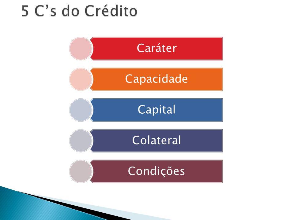 Caráter Capacidade Capital Colateral Condições