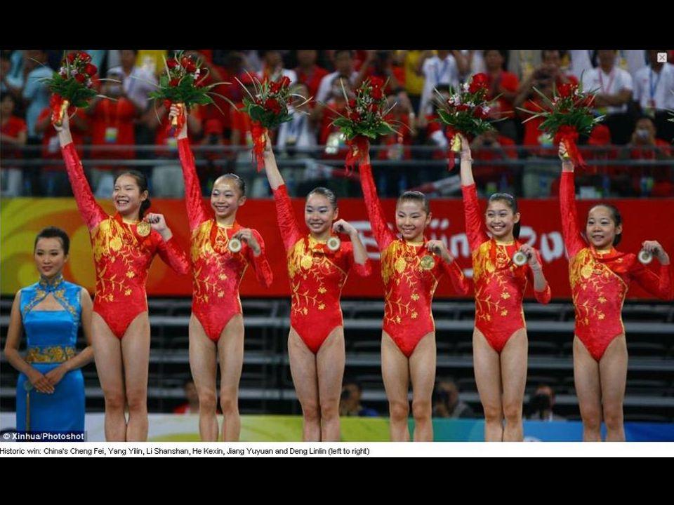 Nos Jogos Olímpicos de 2008, os atletas chineses ganharam 51 medalhas de ouro, e mais de 100 medalhas no total.