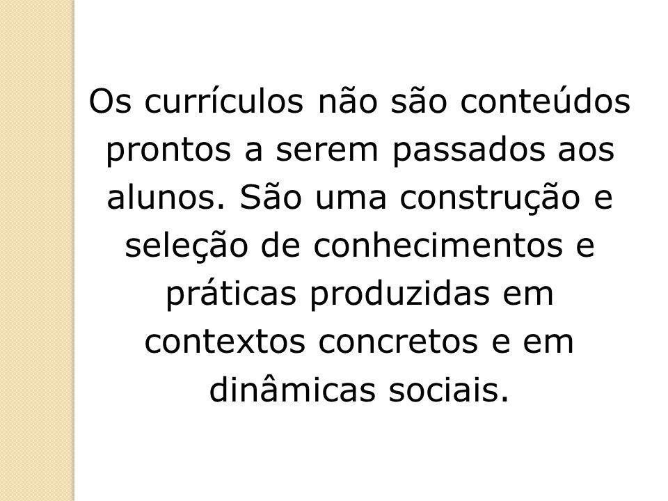CURRÍCULOCURRÍCULOCURRÍCULOCURRÍCULO Didatica: A aula como centro Marcos Masetto Cuidado Escola Paulo Freire