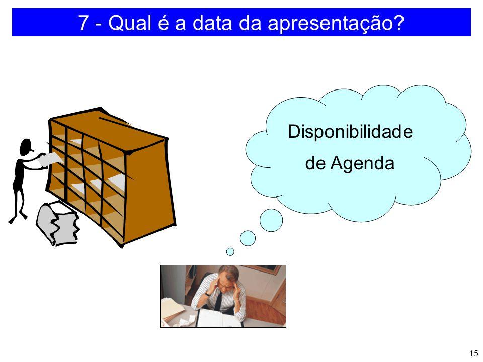 14 6 - Qual é o horário do evento? a)É o ideal b)Concentração c)Eventos subseqüentes