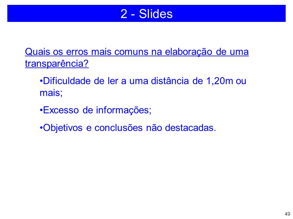 48 SOMENTE O NECESSÁRIO 2 - Slides