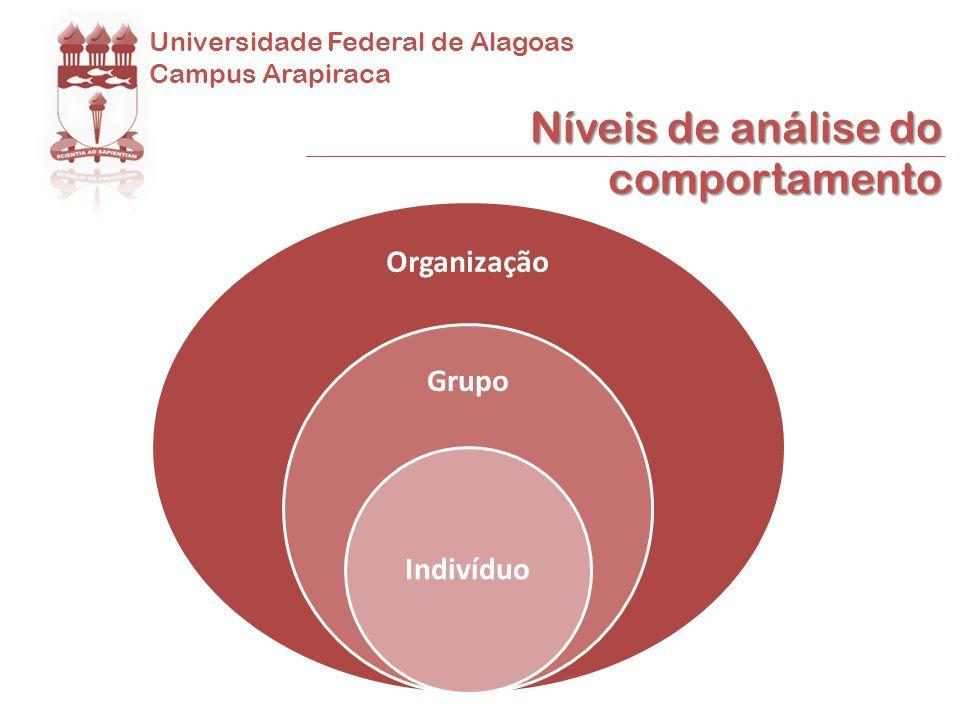 Universidade Federal de Alagoas Campus Arapiraca pessoal profissional (ROBBINS, 2005) Vida