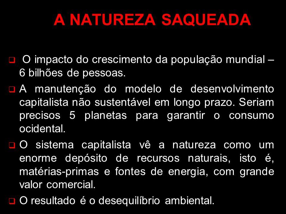 POLUIÇÃO: PRODUTO DO DESENVOLVIMENTO SUSTENTÁVEL A expansão da atividades urbanas gerou uma sociedade de consumo e desperdício.