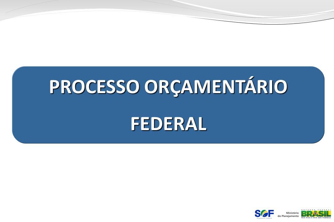 PROCESSO ORÇAMENTÁRIO FEDERAL