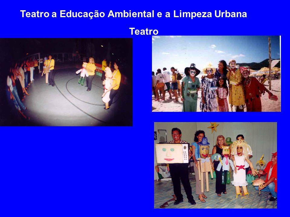 Teatro a Educação Ambiental e a Limpeza Urbana Teatro