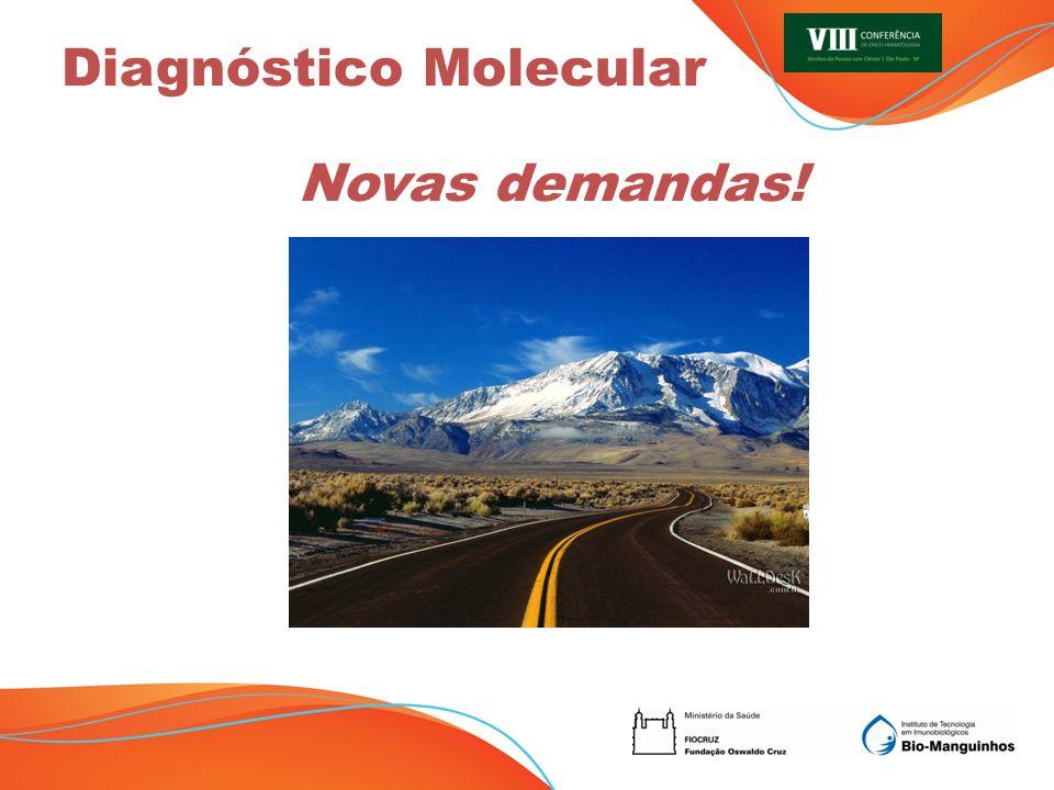 Novas demandas! Diagnóstico Molecular