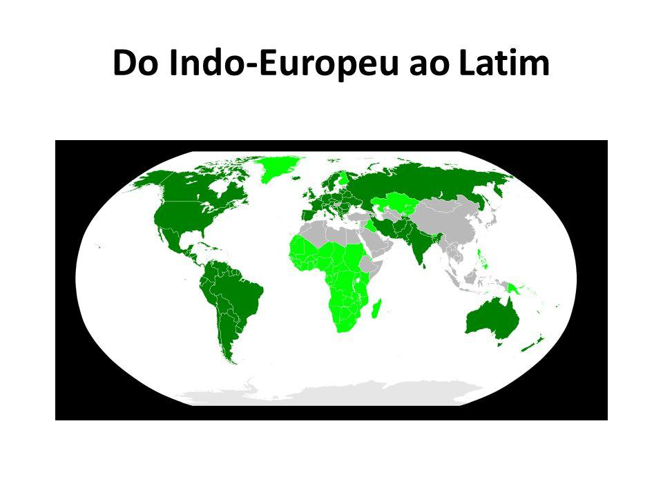 Do Indo-Europeu ao Latim