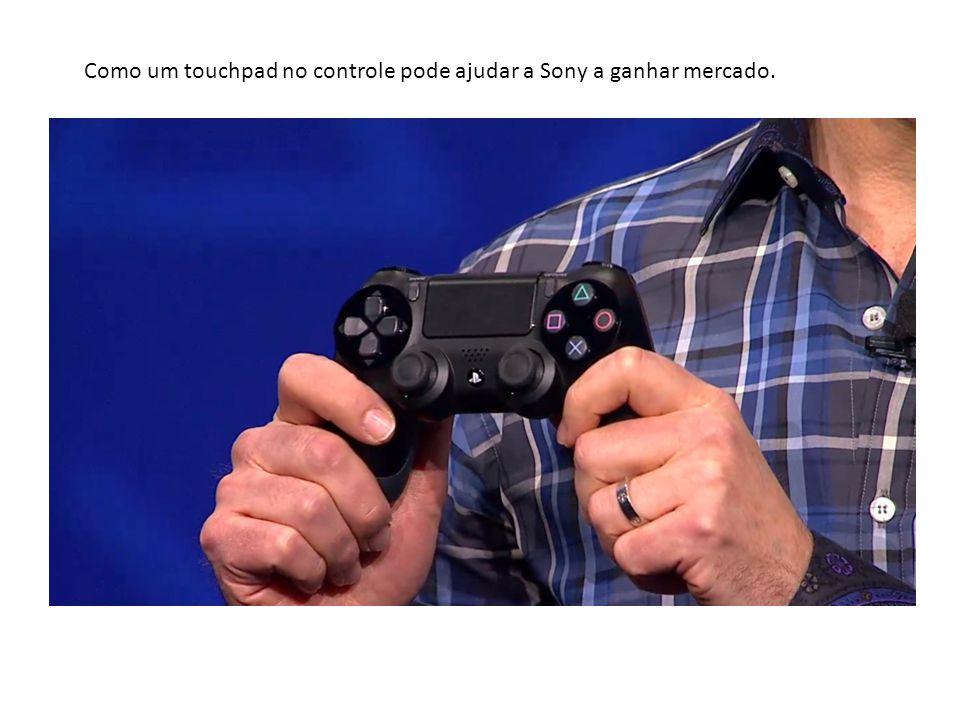 Como um touchpad no controle pode ajudar a Sony a ganhar mercado.