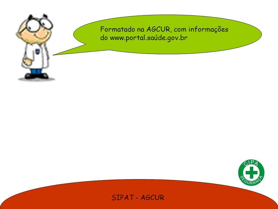 SIPAT - AGCUR Formatado na AGCUR, com informações do www.portal.saúde.gov.br