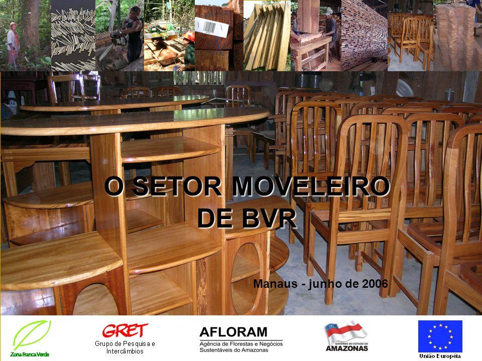 O SETOR MOVELEIRO DE BVR Manaus - junho de 2006