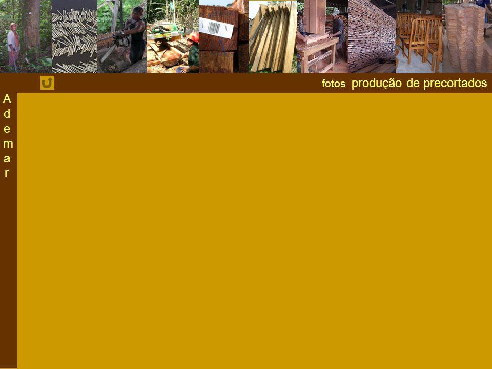 fotos produção de precortados AdemarAdemar
