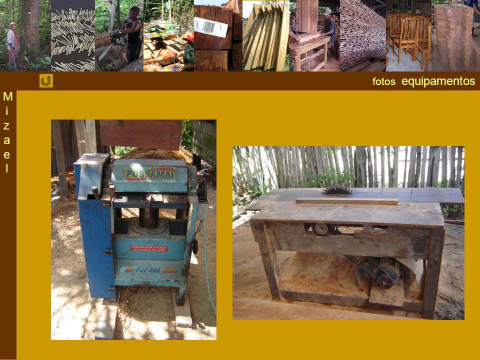 fotos equipamentos MizaelMizael