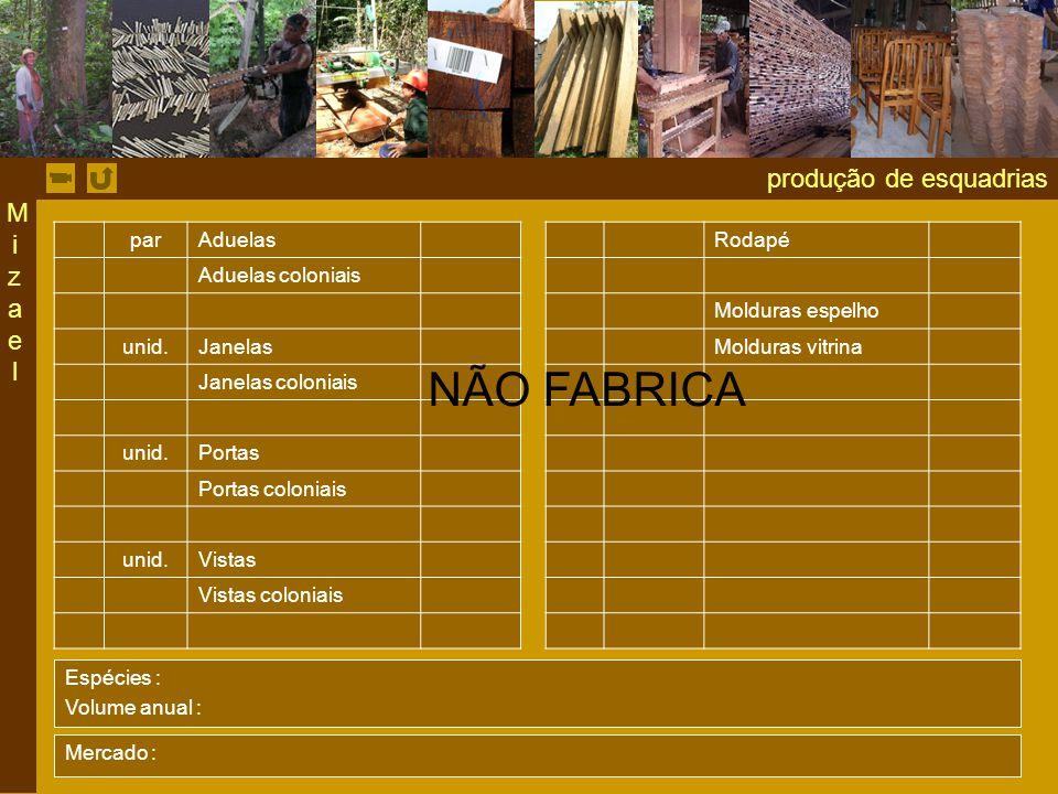 produção de esquadrias par AduelasRodapé Aduelas coloniais Molduras espelho unid.