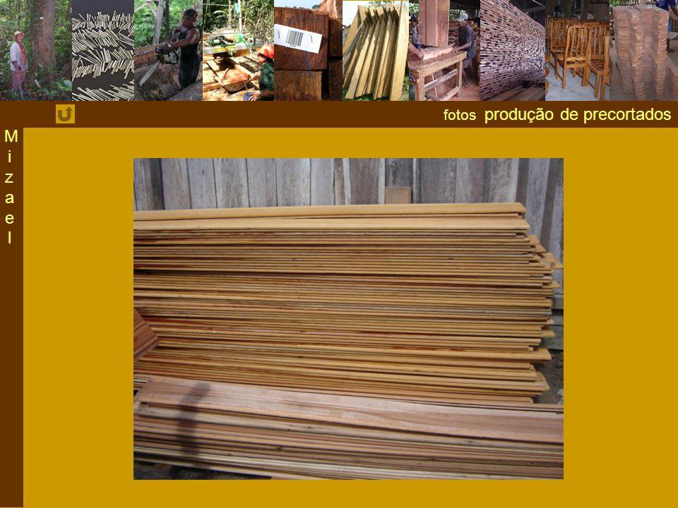 fotos produção de precortados MizaelMizael
