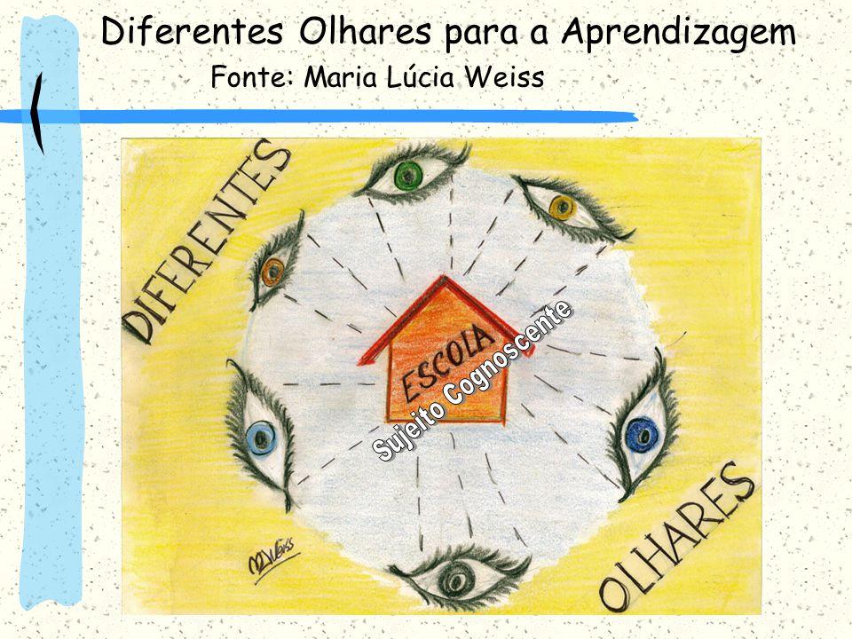Diferentes Olhares para a Aprendizagem Fonte: Maria Lúcia Weiss