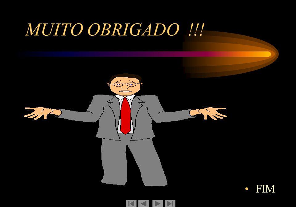 MUITO OBRIGADO !!! FIM