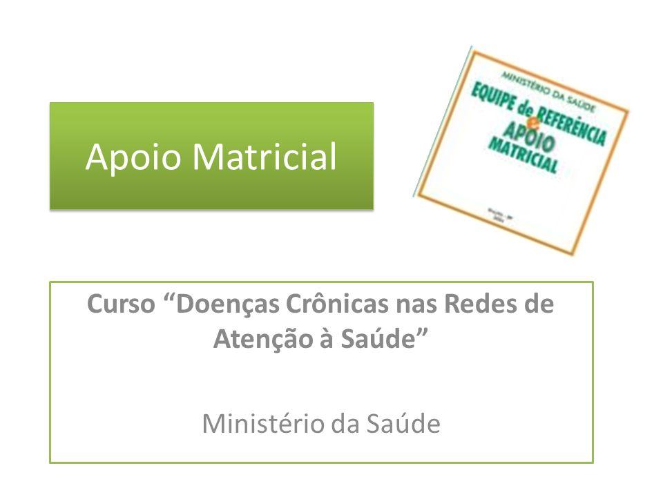 Norteado por estes princípios cria-se o Núcleo de Apoio à Saúde da Família: (...) dentro do escopo de apoiar a inserção da Estratégia de Saúde da Família na rede de serviços e ampliar a abrangência, a resolutividade, a territorialização, a regionalização, bem como a ampliação das ações da APS no Brasil, o Ministério da Saúde criou os Núcleos de Apoio à Saúde da Família (Nasf), mediante a Portaria GM nº 154, de 24 de janeiro de 2008.