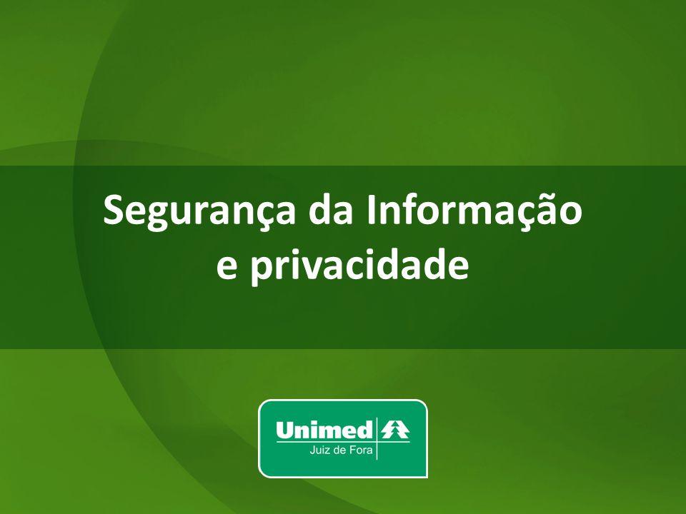 w w Segurança da Informação e privacidade