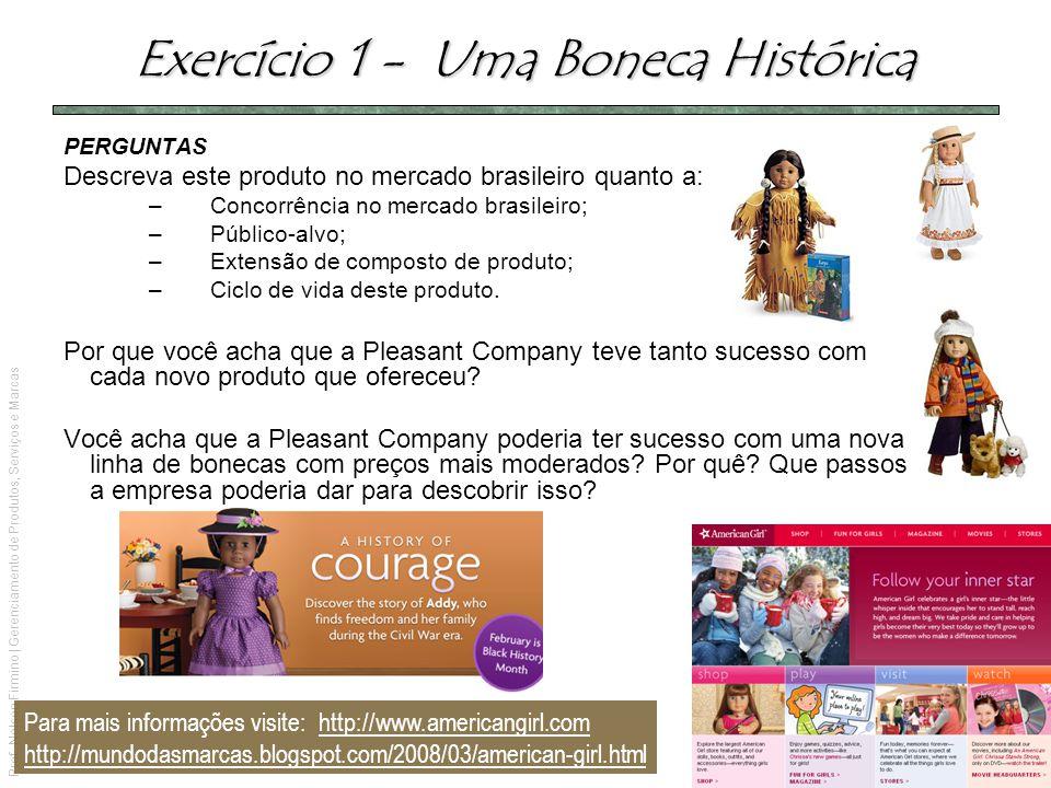 Prof. Nelson Firmino | Gerenciamento de Produtos, Serviços e Marcas PERGUNTAS Descreva este produto no mercado brasileiro quanto a: –Concorrência no m