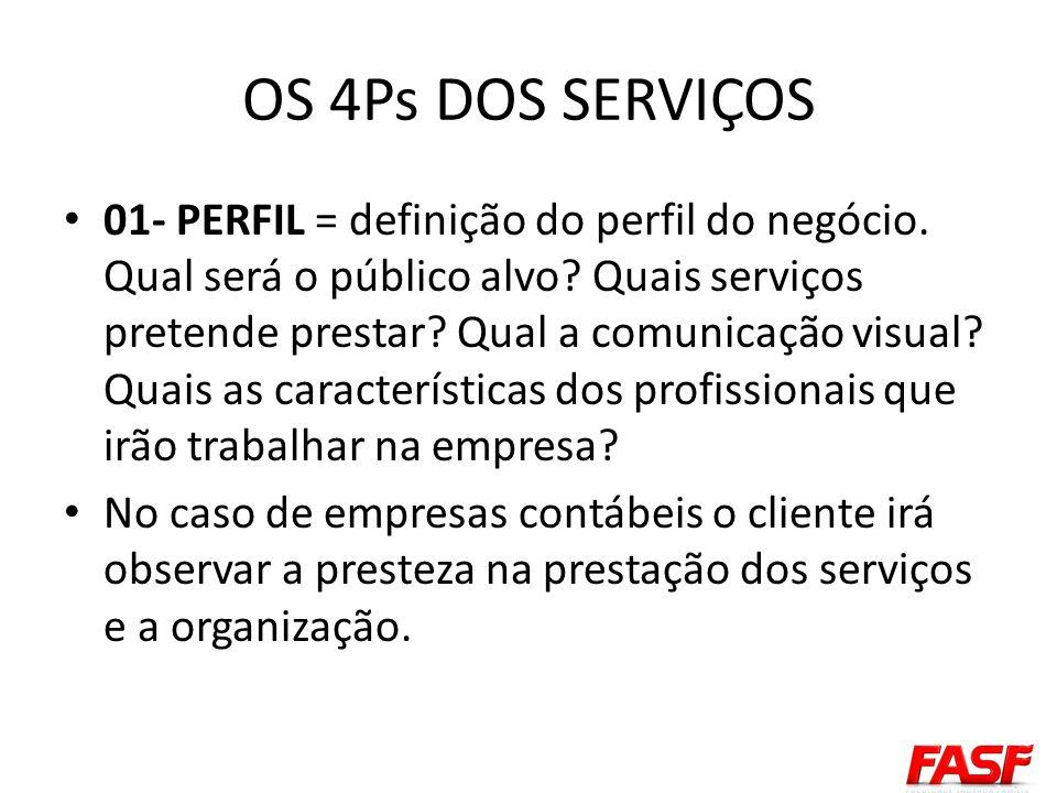02-PROCESSOS – Visanda a segurança, a organização e a qualidade das informações é necessário definir os processos a serem executados pelas empresas prestadoras de serviços.