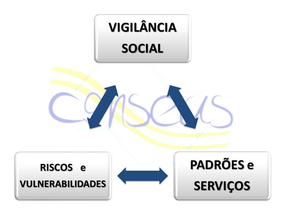 VIGILÂNCIASOCIAL PADRÕES e SERVIÇOS RISCOS e VULNERABILIDADES