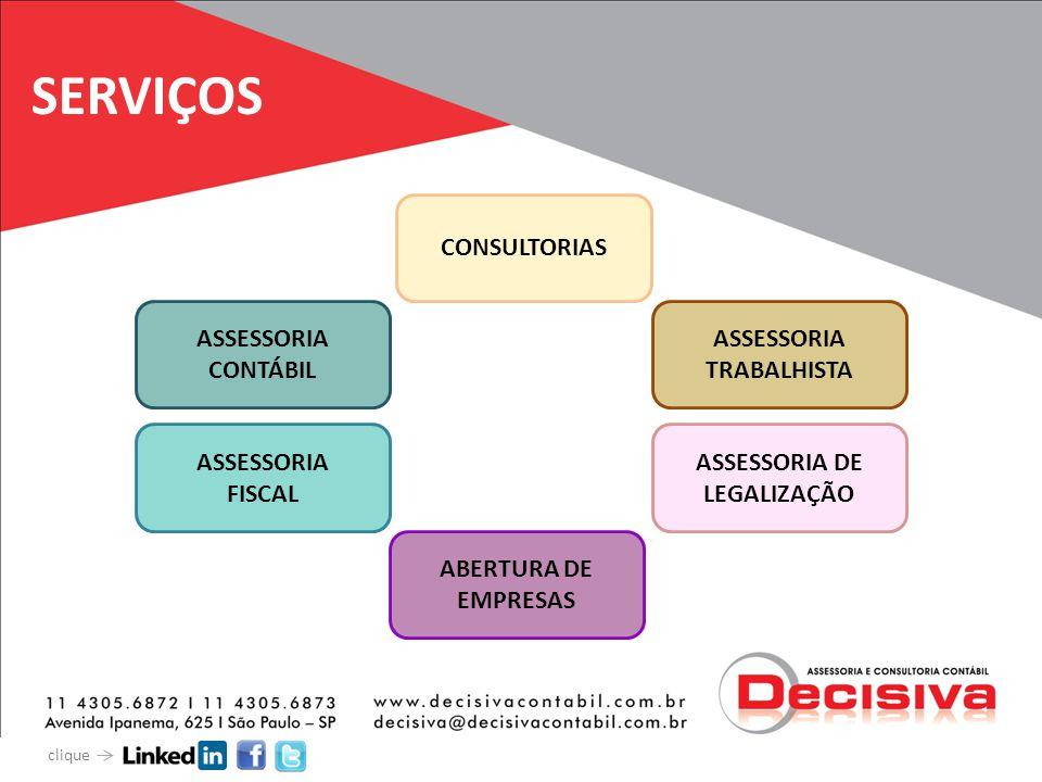 SERVIÇOS CONSULTORIAS ASSESSORIA CONTÁBIL ASSESSORIA TRABALHISTA ASSESSORIA FISCAL ASSESSORIA DE LEGALIZAÇÃO ABERTURA DE EMPRESAS clique