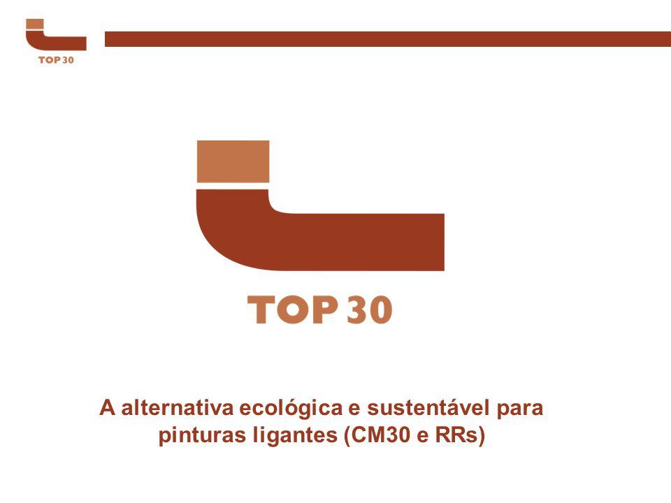 A alternativa ecológica e sustentável para pinturas ligantes (CM30 e RRs)