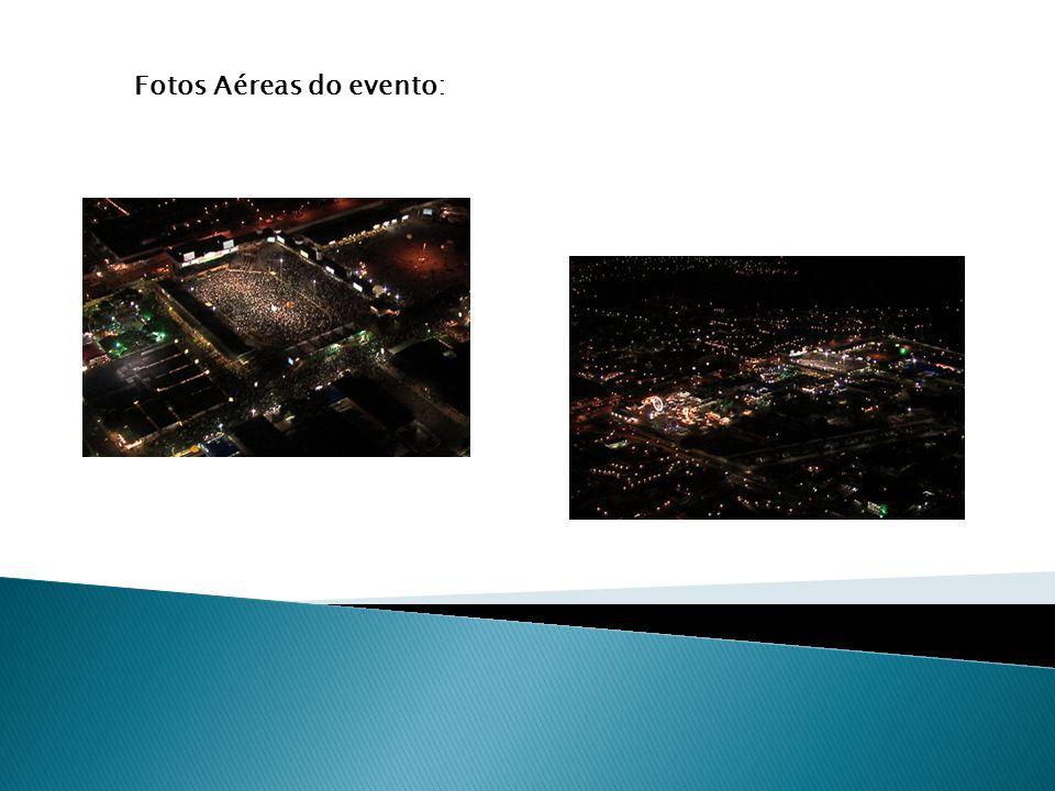Fotos Aéreas do evento: