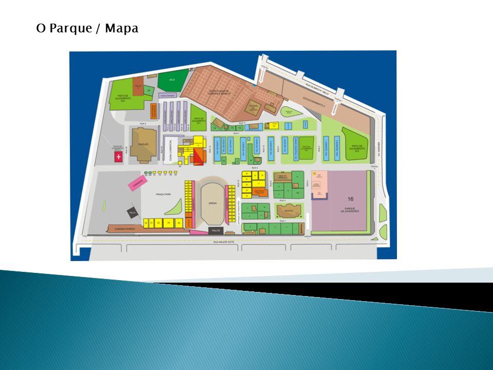 O Parque / Mapa