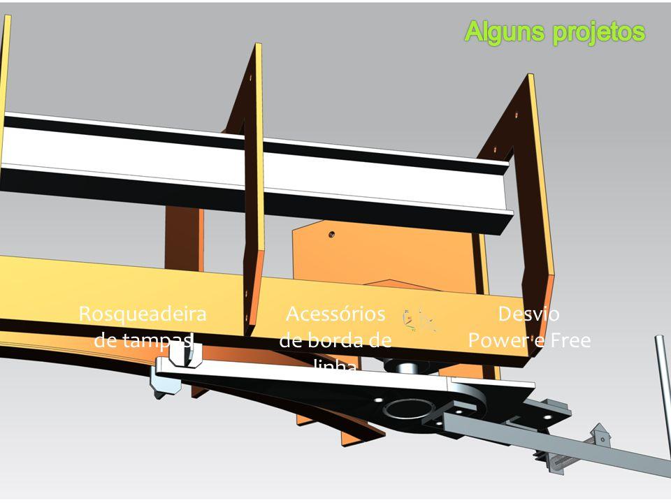 Rosqueadeira de tampas Acessórios de borda de linha Desvio Power e Free