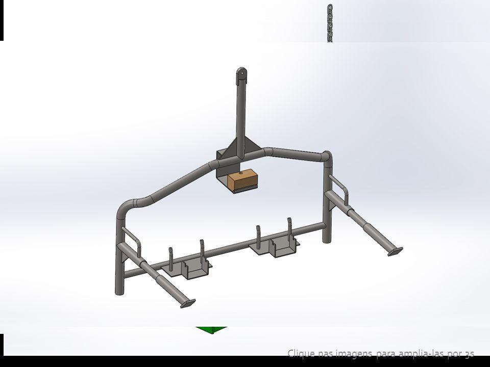 Pinça para solda do tipo Studwelding Gôndola de transporte de banco de veículo Gôndola de transporte de parachoque de veículo Clique nas imagens para