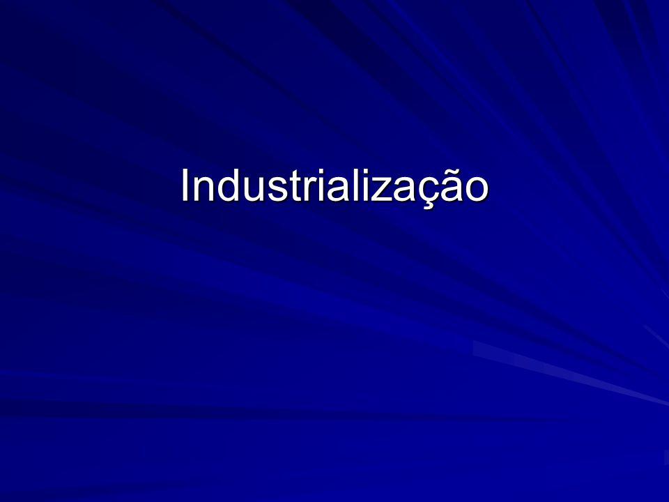 Inicio Portugal (durante três séculos) proíbe manufaturas na colônia.