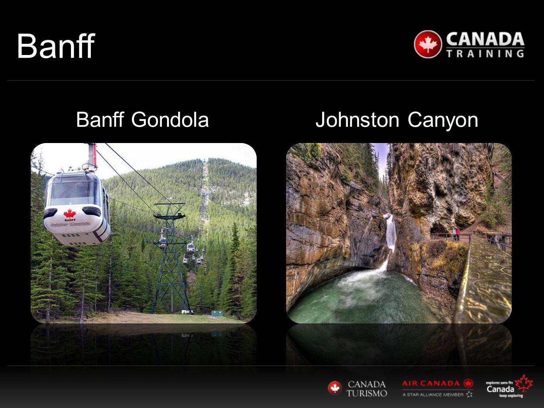 Banff Johnston CanyonBanff Gondola