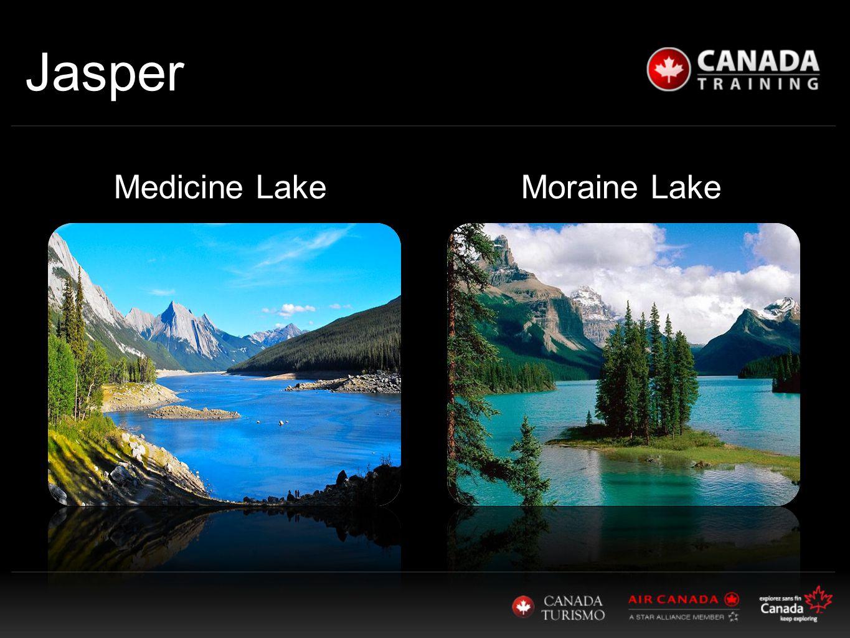 Jasper Moraine LakeMedicine Lake
