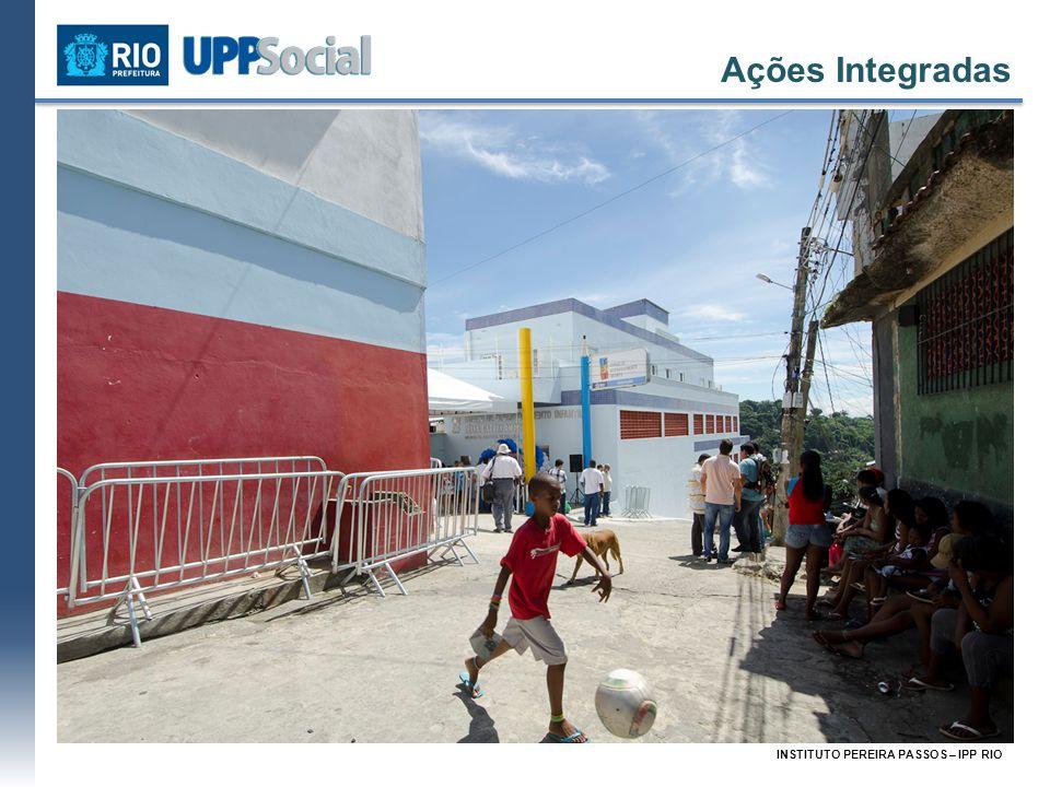 INSTITUTO PEREIRA PASSOS – IPP RIO Demanda: Demolição do muro e mureta no Fogueteiro, retirada de entulho e reativação da Creche Municipal Santa Teres