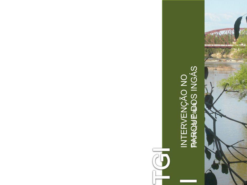 Tarciso de Paula INTERVENÇÃO NO PARQUE DOS INGÁS A CIDADE Mogi Guaçu = Rio Grande das Cobras; Localização: 166 km de São Paulo; 146 km de São Carlos; População: 141.365 habitantes (CENSO/IBGE.2008); Emancipação: 9 de abril de 1877; Agricultura: tomate, laranja, cana de açúcar, algodão; Indústrias: metalurgia, celulose e papel, alimentos e cerâmica;