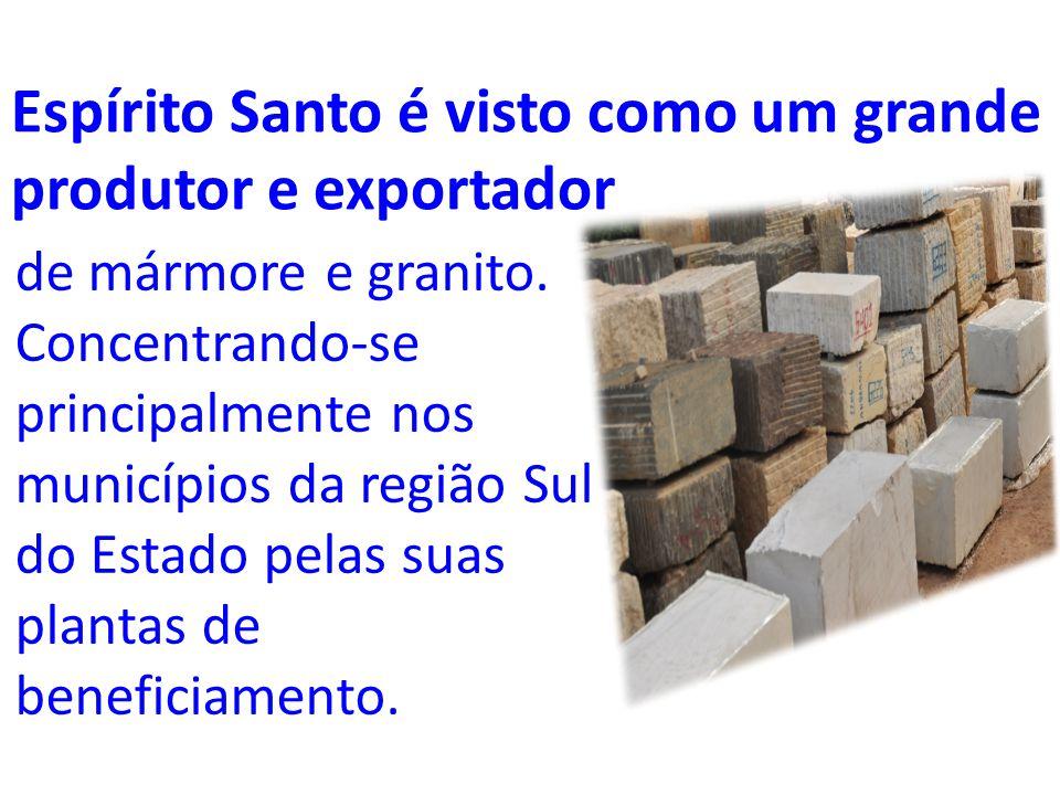 LINHA DO TEMPO DO SETOR Exploração do Mármore (1957) Indústria Serraria de Mármores (1966) 1ª Fábrica de Máquinas (1969) Criação do Sindirochas (1973) Exploração do Granito (1980)