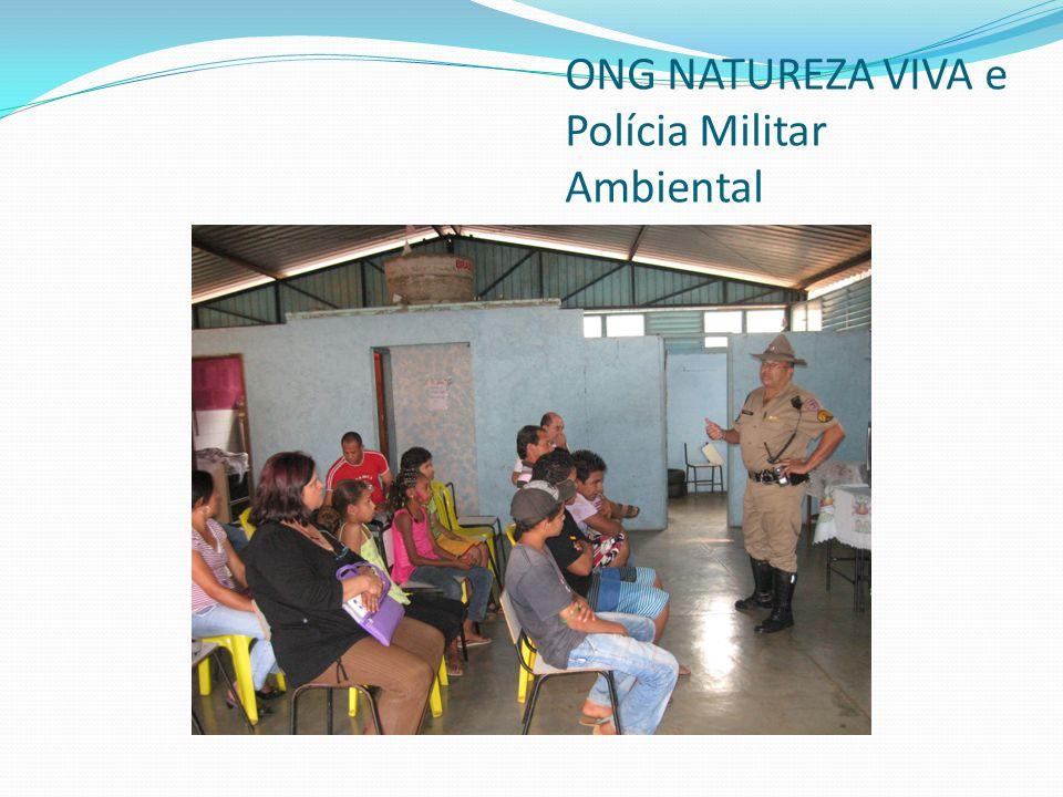 ONG NATUREZA VIVA e distribuição de mudas