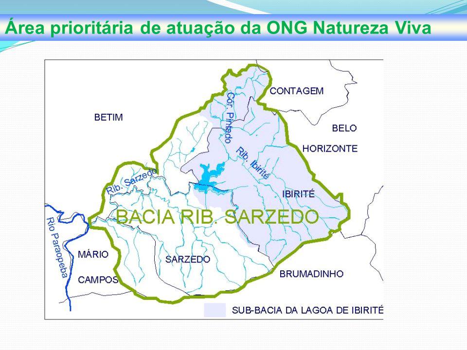 ONG NATUREZA VIVA Em seus dois anos de atuação a ONG Natureza Viva realizou diretamente ou através de parceria várias ações em defesa de nossa região.