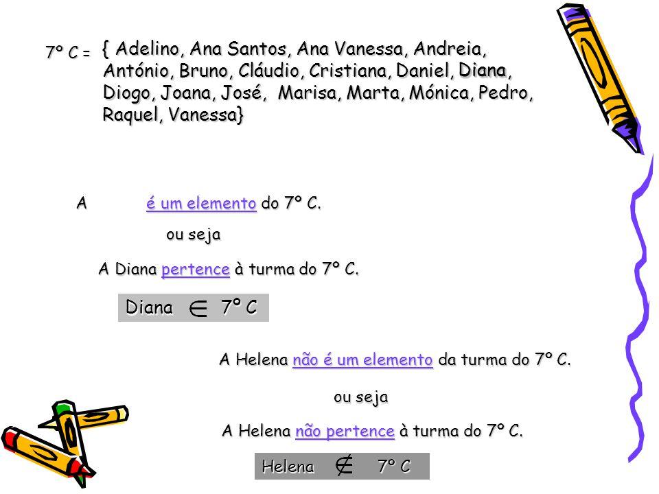 Diana 7º C { Adelino, Ana Santos, Ana Vanessa, Andreia, António, Bruno, Cláudio, Cristiana, Daniel, Diana, Diogo, Joana, José, Marisa, Marta, Mónica,