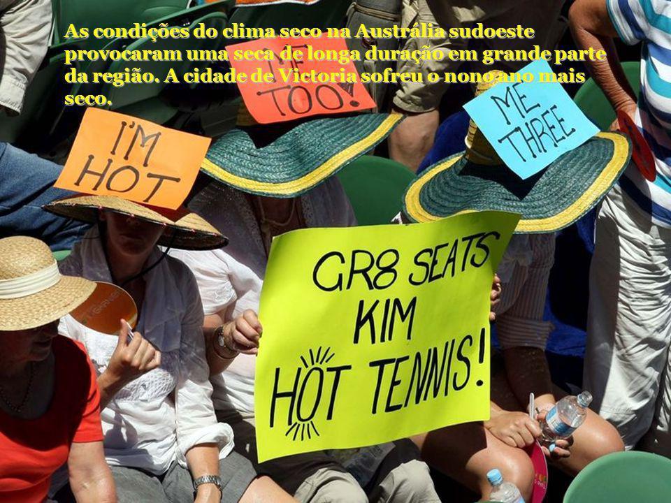 As condições do clima seco na Austrália sudoeste provocaram uma seca de longa duração em grande parte da região. A cidade de Victoria sofreu o nono an
