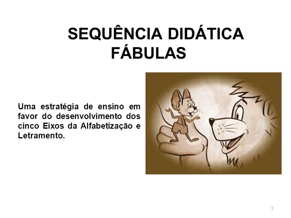 Uma estratégia de ensino em favor do desenvolvimento dos cinco Eixos da Alfabetização e Letramento.