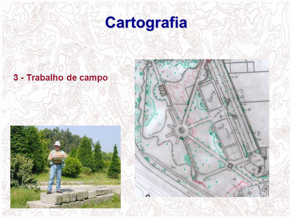 3 - Trabalho de campo Cartografia