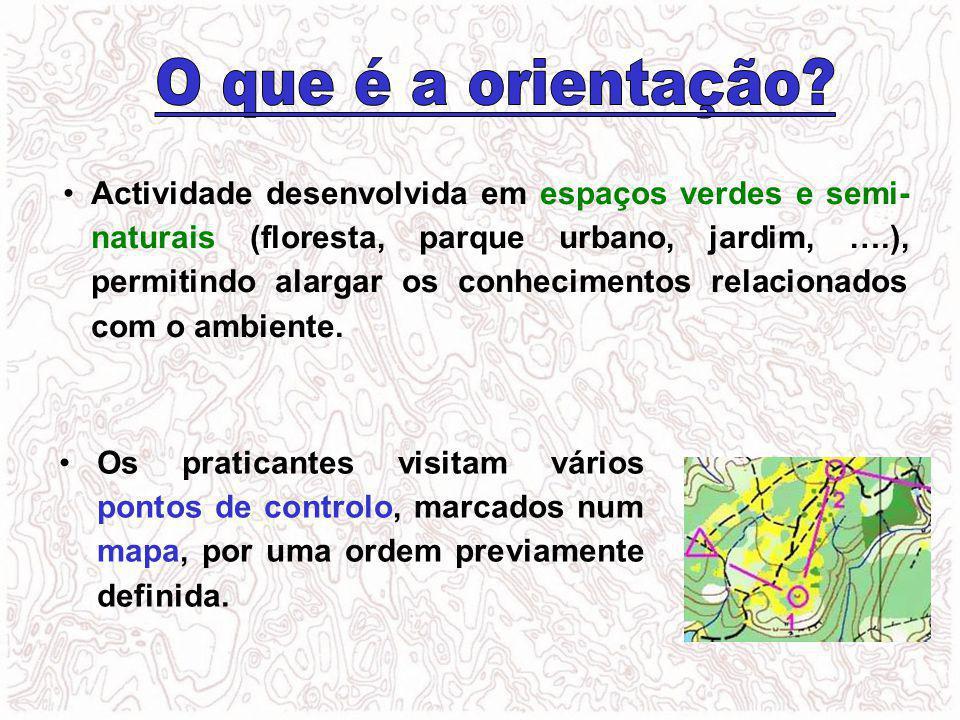 Actividade desenvolvida em espaços verdes e semi- naturais (floresta, parque urbano, jardim, ….), permitindo alargar os conhecimentos relacionados com